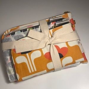 Orla Kiely for Target Set of 3 Cosmetic Pouches